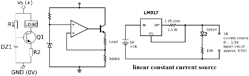 linear constant current source