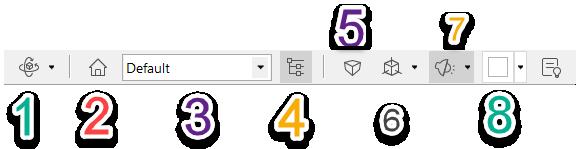دستورهای محیط 3بعدی